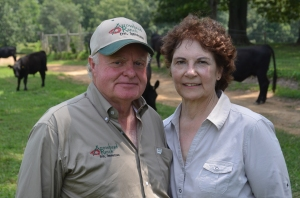 George and Ginger Peak of Arrowhead Ranch.