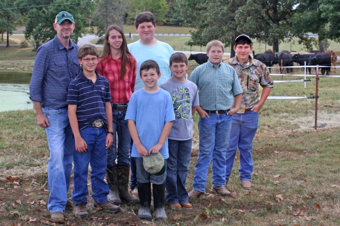 The scholarship finalists (pictured left to right): Christopher Martin, Martin Farms; Cole Ledford, Cleveland; Kara Stofel, Culleoka; Riley Bright, Rockwood; Mason Allen, Woodbury; Parker Bright, Rockwood; Hayden Campbell, Lowesville, VA;  and Riley Reed, Lyles.