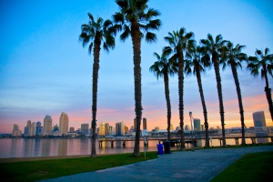 San Diego from Ferry Landing in Coronado
