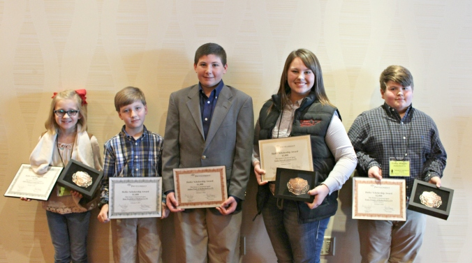 Heifer Scholarship Winners