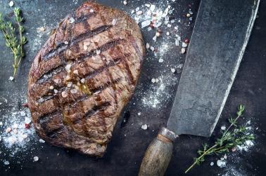 Barbecue Dry Aged Rib Eye Steak