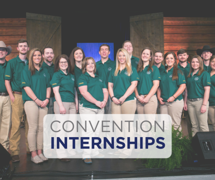 Convention Internships